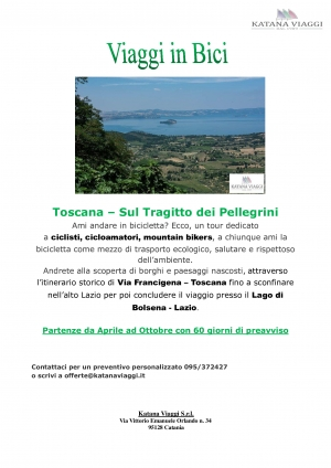 Tour Toscana in bici!